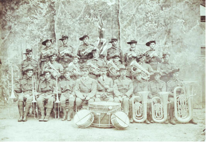 74th Infantry Band (photograph from the Unley Museum Collection)