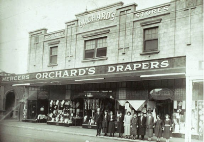Orchard's Draper Store (photograph from the Unley Museum Collection)