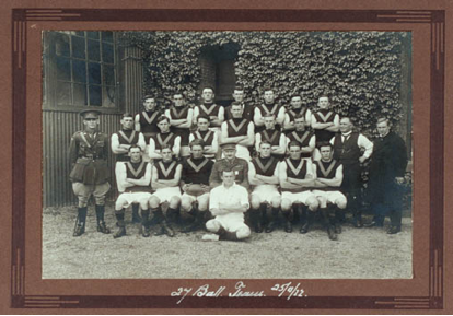 27th Battalion Football Team 1922 (photograph from the Unley Museum Collection)