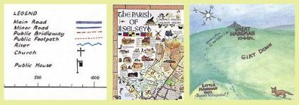 Iimage of parish map from England in Particular website