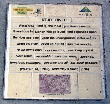 Sturt River interpretive tile