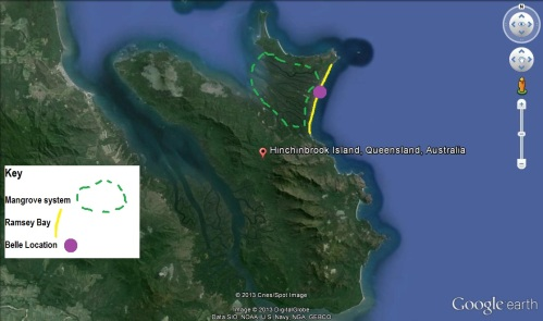 hinchinbrook map. dp.