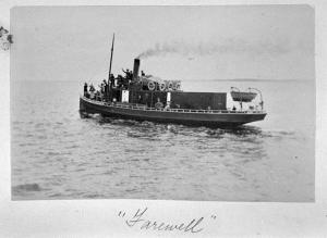 Figure 6: Vixen at Cowes, November 1902 – A.J. Campbell, Museum of Victoria Collection (Photo courtesy of John Jannson).