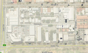 SW corner of Adelaide, with Kingston Map.