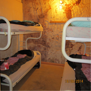 Student accommodation at Coober Pedy