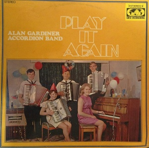 LP Record 'Play It Again' by Alan Gardiner Accordion Band, Willow Court