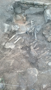 Trench F, Day 4 – More Skeleton Revealed, Trench Closed